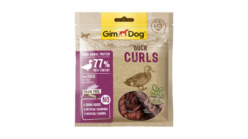 GimDog Duck Curls