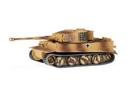 Herpa 746458 Kampfpanzer Tiger mittlere Version Panzer Abt 507 1 Kompanie Ostfront Fighting tank Tiger