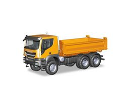 Herpa 309998 Iveco Trakker 6x6 Baukipper LKW orange