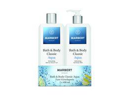 MARBERT Bath Body Classic Aqua Bundle