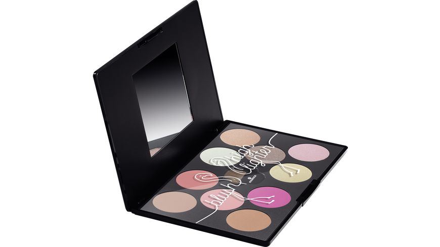 essence flamingoparadise blush and highlighter palette