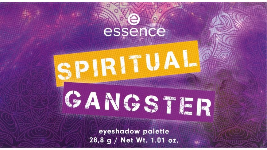 essence SPIRITUAL GANGSTER eyeshadow palette