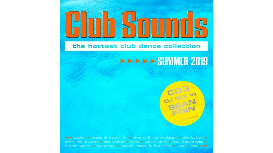Club Sounds Summer 2019