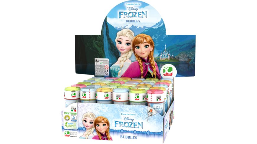 Dulcop Seifenblasen Disney Frozen 60 ml 1 Stueck sortiert