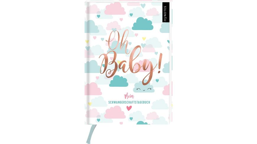 myNOTES Oh Baby Mein Tagebuch fuer die Schwangerschaft