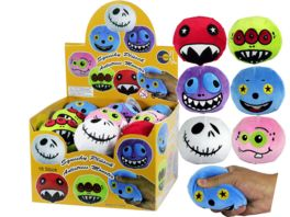 Fun Trading Squishy Pluesch Antistress Monster 1 Stueck sortiert