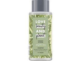 LOVE beauty AND planet Delightful Detox Shampoo Rosemary Vetiver