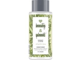 LOVE beauty AND planet Delightful Detox Conditioner Rosemary Vetiver
