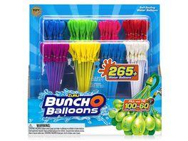 Zuru Bunch O Balloons 265 Wasserballons schnellfuellend selbstschliessend