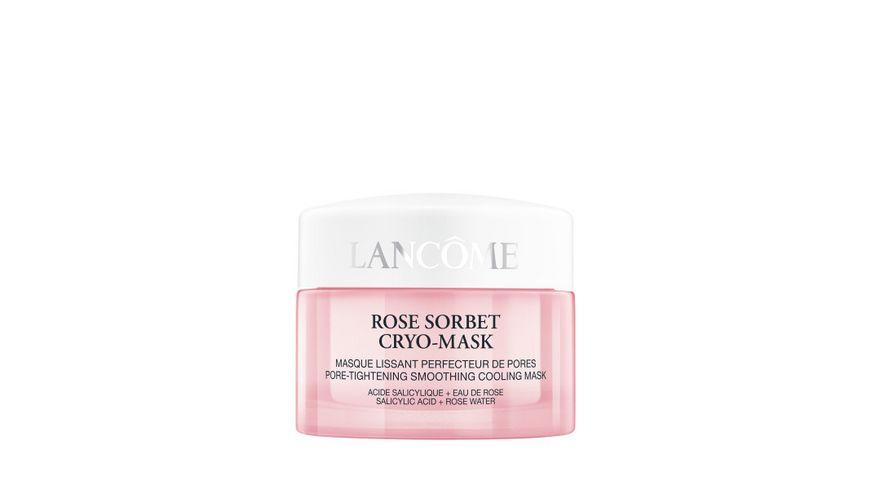 LANCOME Rose Sorbet Cryo Mask