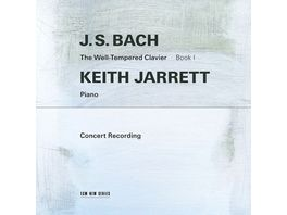 J S Bach The Well Tempered Clavier Book I