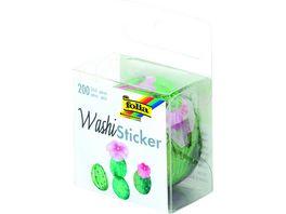 folia Washi Sticker Kakteen