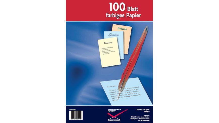 TORGAU Inkjet Laser und Kopierpapier A4 hellblau