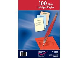TORGAU Inkjet Laser und Kopierpapier A4 rot