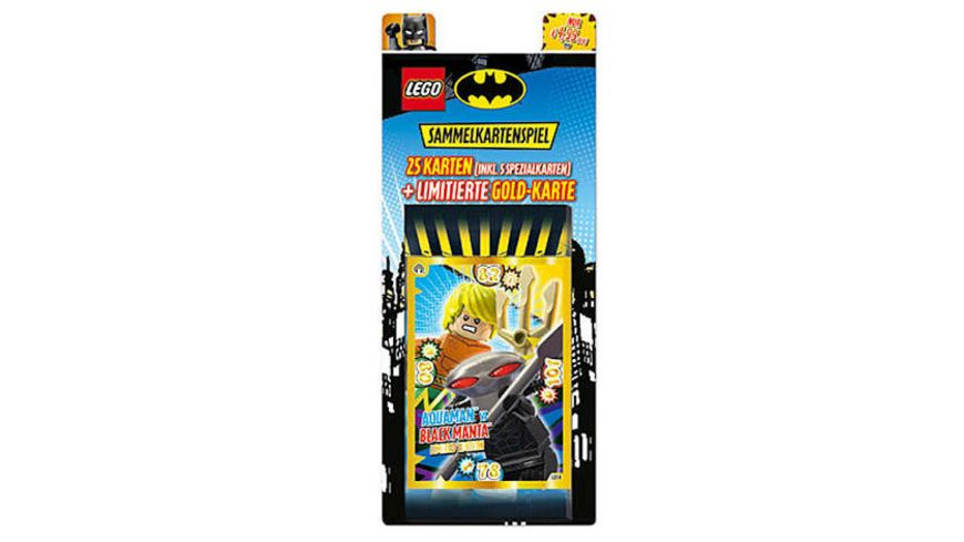 LEGO Batman Trading Cards 5er Blister