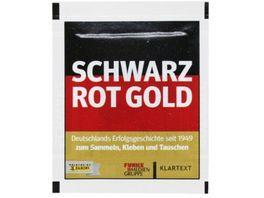 Panini Schwarz Rot Gold Sammelsticker 1 Tuete