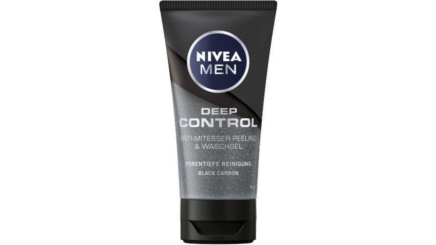 NIVEA MEN Deep Control Peeling Waschgel