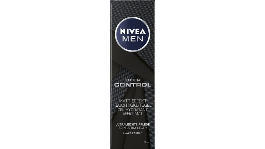 NIVEA MEN Deep Control Matt Effekt Feuchtigkeitsgel