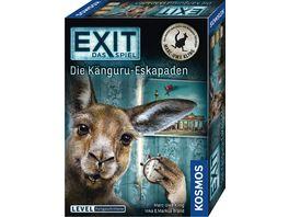 KOSMOS EXIT Das Spiel Die Kaenguru Eskapaden Level Fortgeschrittene