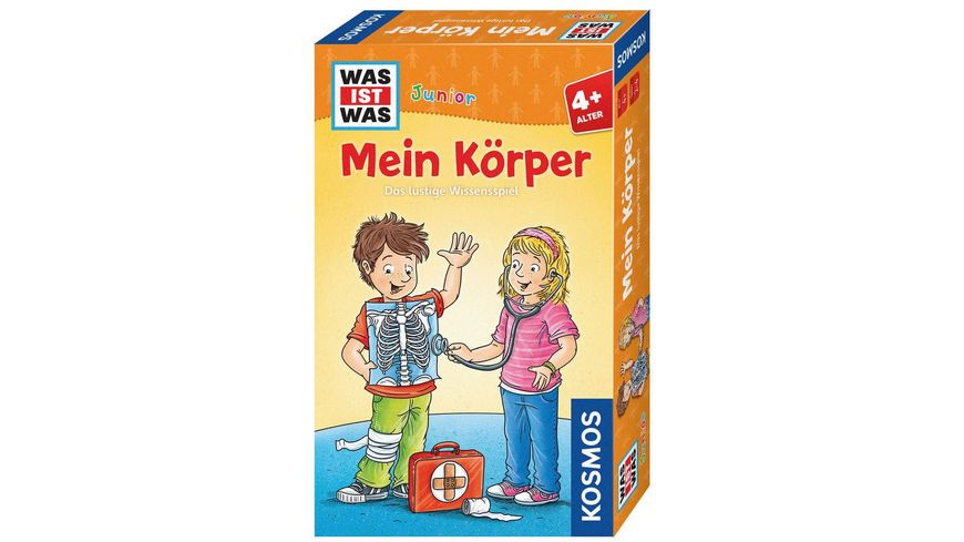 KOSMOS WAS IST WAS Junior Mein Koerper Das lustige Wissensspiel