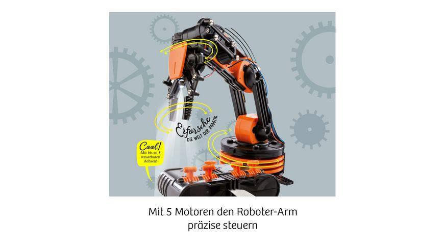 KOSMOS Roboter Arm Modellbausatz fuer deinen elektrischen Roboterarm