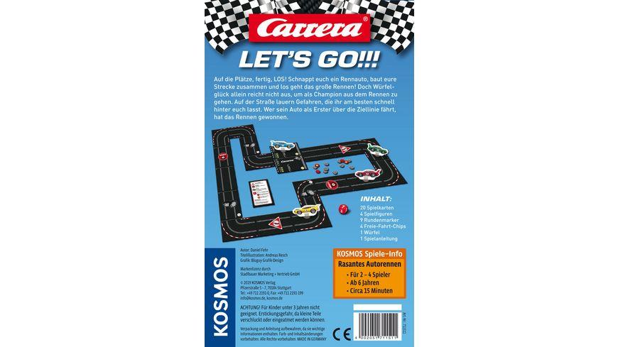 KOSMOS Carrera Let s go Rasantes Autorennen