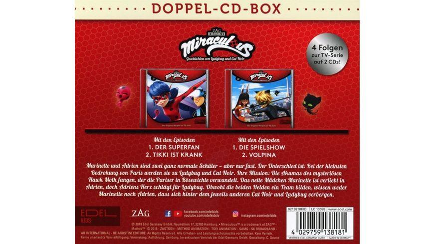 Miraculous Hoerspiel Doppel Box Folgen 11 12