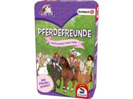 Schmidt Spiele Schleich Pferdefreunde Karten ziehen Pferde finden Mit Pferdeposter