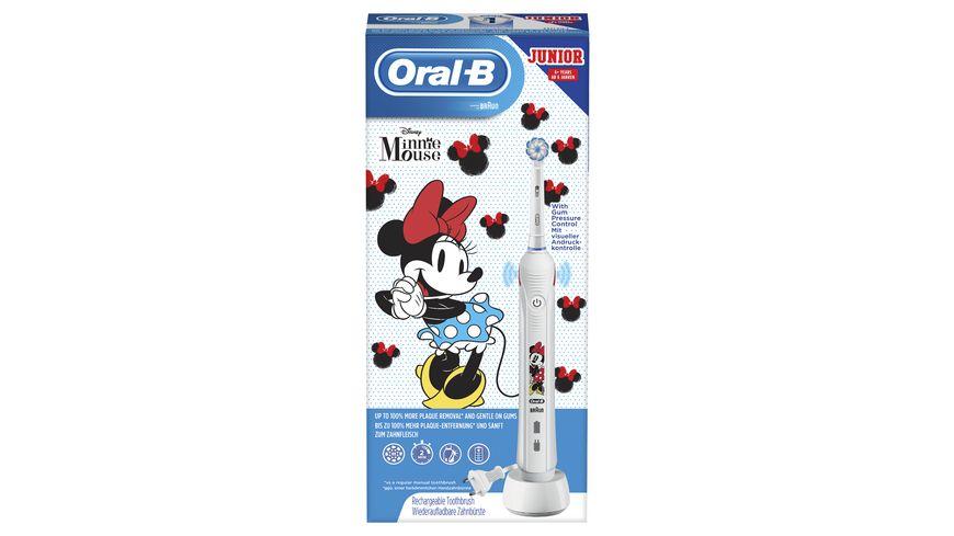 Oral B Junior Minnie Mouse Elektrische Zahnbuerste