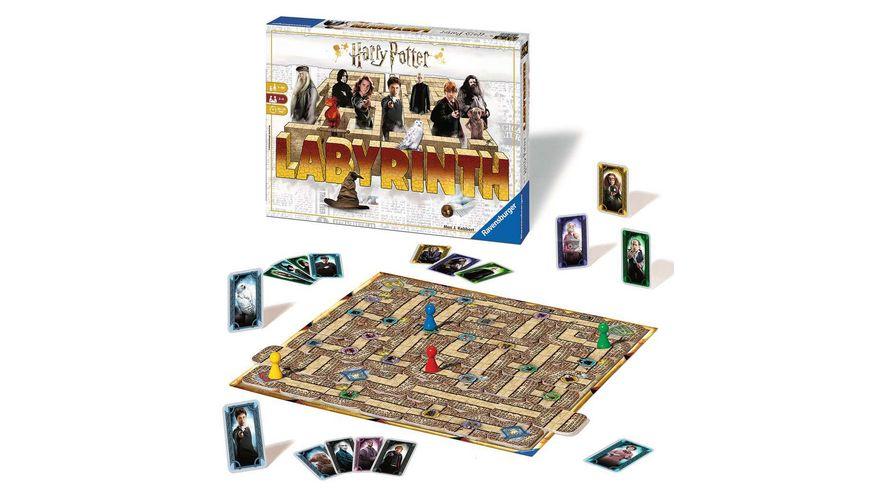 Ravensburger Spiel Das verrueckte Labyrinth von Ravensburger in der Welt von Harry Potter ein Spieleklassiker fuer die ganze Familie