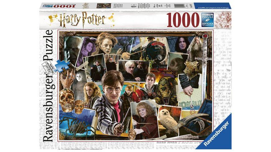 Ravensburger Puzzle Harry Potter gegen Voldemort 1000 Teile