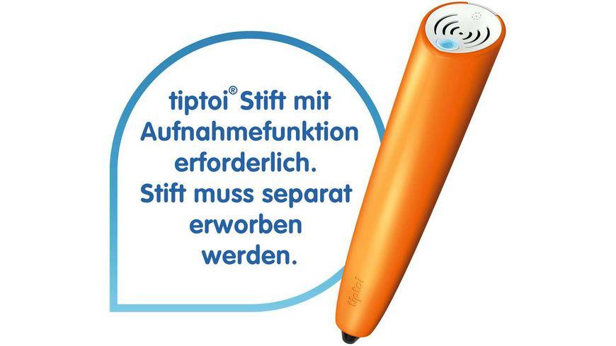 Ravensburger tiptoi Stifthuelle zum Wechseln in Lila Wechselhuelle fuer den tiptoi Stift mit Aufnahmefunktion