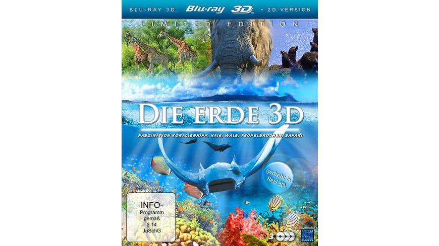 Die Erde 3D 3 BRs