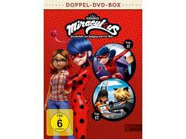 Miraculous 11 12 Geschichten von Ladybug und Cat Noir Die DVD zur TV Serie 2 DVDs