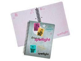 spotlight Notizbuch A5 kariert