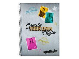 spotlight Collegeblock A4 kariert
