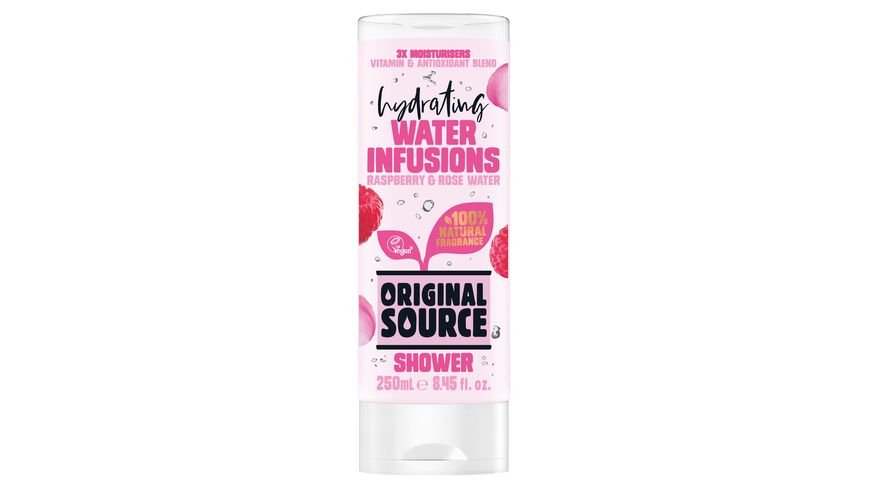 ORIGINAL SOURCE Hydrating Water Infusions Raspberry Rose Water