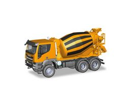 Herpa 310000 Iveco Trakker 6x6 Betonmischer LKW orange