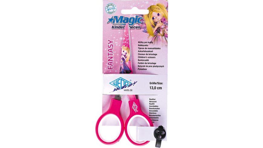 WEDO Bastelschere Fantasy pink 13cm