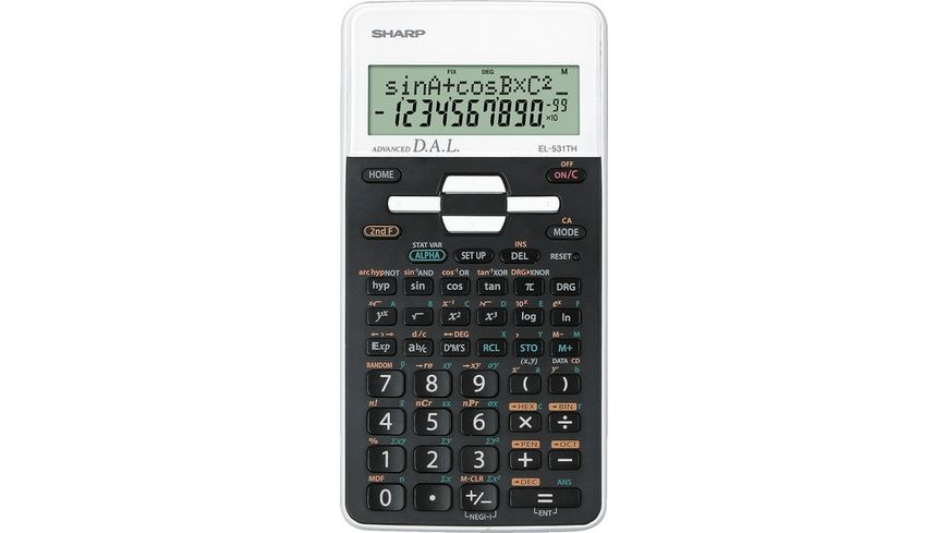 SHARP Taschenrechner EL 531THWH