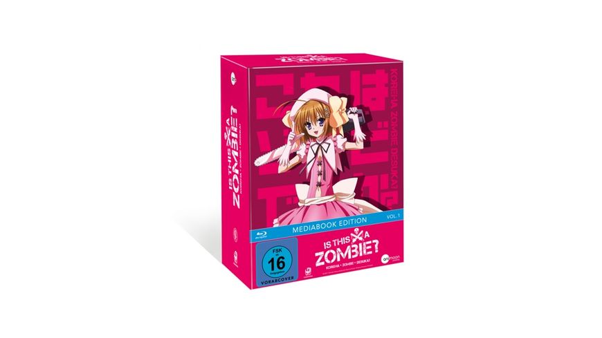 Is This A Zombie Vol 1 Limited Mediabook