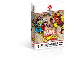 Winning Moves Number 1 Spielkarten Marvel Comics Retro
