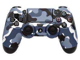 Skins Sticker fuer PS4 Controller Camo Grey