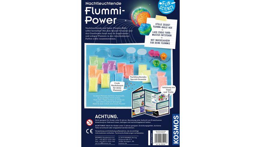 KOSMOS Fun Science Nachtleuchtende Flummi Power Experimentierkasten