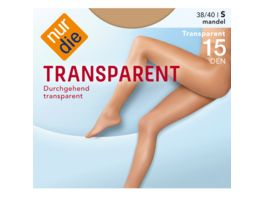 NUR DIE Transparent Strumpfhose