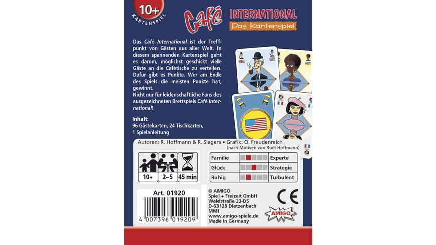 Amigo Spiele Cafe International Kartenspiel