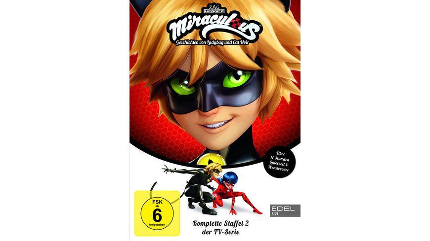 Miraculous Geschichten von Ladybug und Cat Noir Staffelbox 2 3 DVDs