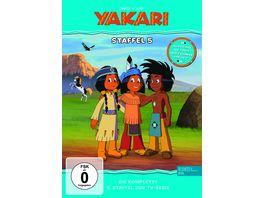 Yakari DVD Staffelbox Die komplette fuenfte Staffel zur TV Serie 2 DVDs