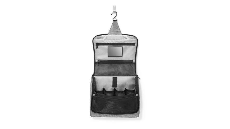 reisenthel toiletbag XL twist silver