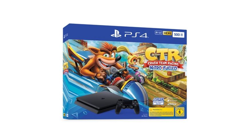 PS4 Konsole Slim 500GB Crash Team Racing